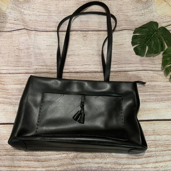 Vintage Francesco Biasia black Leather Purse